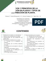 OBJETIVOS, PRINCIPIOS Y TIPOS DE DISTRIBUCION EN PLANTA.pptx