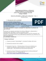 Guia de actividades y Rúbrica de evaluación - Unidad 1 - Caso 1 - Dilemas Éticos