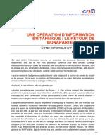 cf2r.org-Une opération dinformation britannique le retour de Bonaparte dEgypte