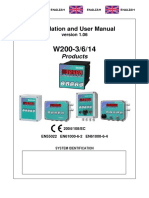 Laumas User Manual W200 3-6-14 Products