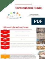 linea del tiempo del comercio internacional sandra martinez