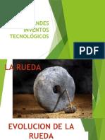 GRANDES INVENTOS TECNOLÓGICOS segundo
