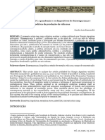 Bazzanella - 2020 - GIORGIO AGAMBEN a Pandemia e Os Dispositivos de b
