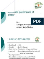 dabur corporate governance ppt