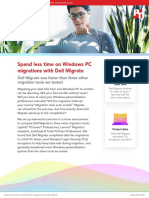 Spend less time on Windows PC migrations with Dell Migrate