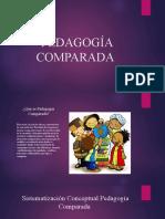 TEORIZACIÓN DE LA PEDAGOGÍA COMPARADA