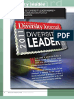 Diversity Journal | 2011 Diversity Leader Award