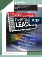 Diversity Journal   2011 Diversity Leader Award