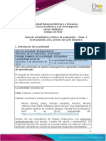 Guia de actividades y Rúbrica de evaluación - Unidad 1 - Paso  2 -  Acercamiento a los actores del acto didáctico (1)