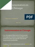 Instrumentation en Chirurgie