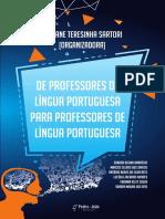 Ebook De professores de língua portuguesa para professores de língua portuguesa