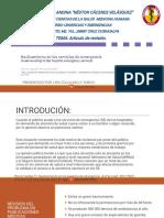 Revisión de Articulo Hacinamiento en Los Servicios de Emergencia