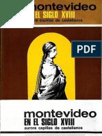 CASTELLANOS. Montevideo en el siglo XVIII