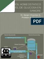 Control Homeostatico Del Nivel de Glucosa en Sangre