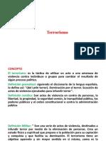 Diapositiva de Terrorismo