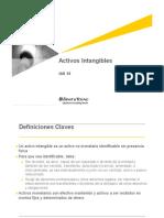Activos Intangibles IAS 38
