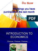 1. Introduction to Economics Powerpoint Unit I