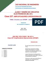 UNI_FIM_2020-1 (ML-831)_Clase 32 (Op Amp - Seminario 1)