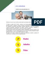 LOS ESTADOS DEL YO