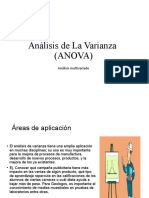 Análisis de varianza de un factor (ANOVA) - Luis Gabriel Ortega