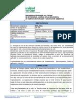 CN329 Plan de asignatura BIOLOGIA AGRO