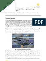 """Project Sonnenpark - the """"Flower Power Plant"""""""