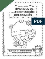 PACOTINHO ALFABETIZAÇÃO GELADINHA