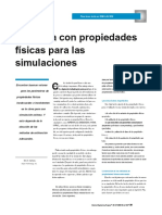 Don´t gamble with physical properties for simulations