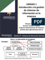 DIAPOSITIVAS UNIDAD 1 Introducción a la gestión de sistemas de información en la empresa - Parte 1