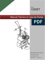 MANUAL TECNICO Y DE PARTES TYPICAL MODELO 1335ET.pdf