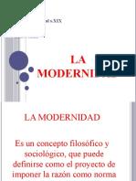 1.La modernidad