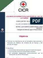 NORMAS INTERNACIONALES SOBRE EL USO DE LA FUERZA.ppt