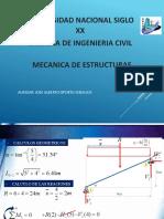 mecanica de estructuras  presentacion 3