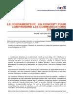 cf2r.org-Le fondamenteur un concept pour comprendre les communications dinfluence
