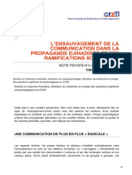 cf2r.org-Lensauvagement de la communication dans la propagande djihadiste et ses ramifications sociétales