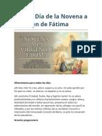 Cuarto Día de la Novena a la Virgen de Fátima.docx