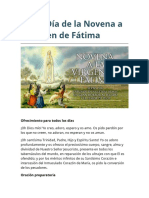 Sexto Día de la Novena a la Virgen de Fátima