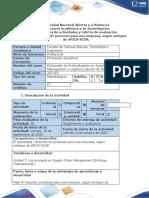 Guía  y rúbrica - Fase 4- Describir procesos para una empresa, segun enfoque de APICS-SCOR.