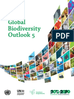 UN Global Biodiversity Outlook 5