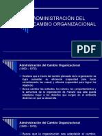 ADMINISTRACIÓN DEL CAMBIO ORGANIZACIONAL EXP. GRUPO 2