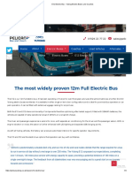 E12 Electric Bus - Yutong Electric Buses and Coaches