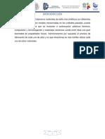 Procesos industriales de plásticos térmicos, compuestos y termofraguantes y materiales cerámicos