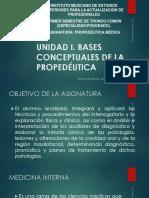 PROPEDEUTICA MEDICA UNIDAD I