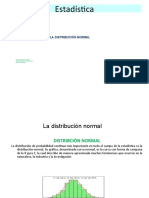 CLASE 8 Distribución normal