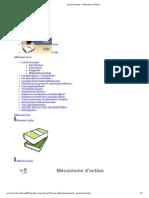 Les β-lactames - Mécanisme d'action