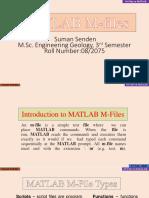 MATLAB M-Files(SumanSendenTamang)