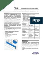 MasterSeal 940 TDS fr