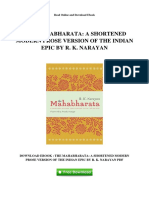 the-mahabharata-a-shortened-modern-prose-version-of-the-indian-epic-by-r-k-narayan