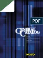 KOSO General Catalog