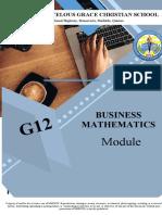 business math 2nd week